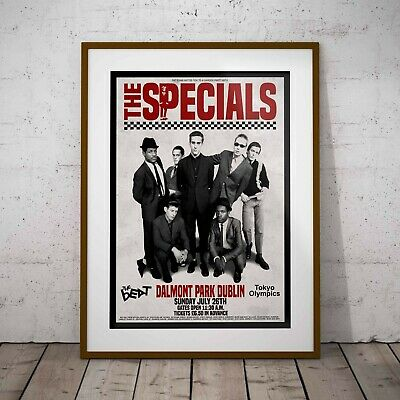 The Specials 1981 Final Concert Three Print Options -Two Framed Options Ska NEW • 6.99£