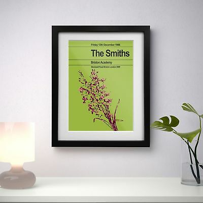 The Smiths 1986 Last Concert Three Print Options Or Framed Poster EXCLUSIVE • 16.99£