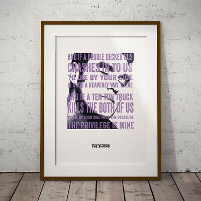 Morrissey There Is A Light Three Print Options Or Framed Poster Smiths EXCLUSIVE • 16.99£