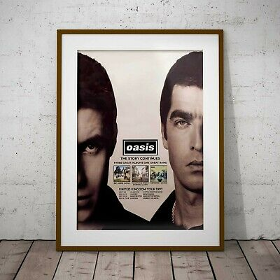Oasis UK 1997 Concert Framed Or 3 Print Options Gallagher EXCLUSIVE NEW 2020 • 32.99£