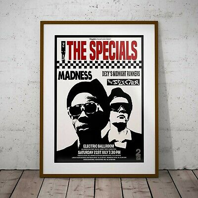 2 Tone 1979 Tour Specials Madness Concert  Framed Or 3 Print Options EXCLUSIVE • 39.99£