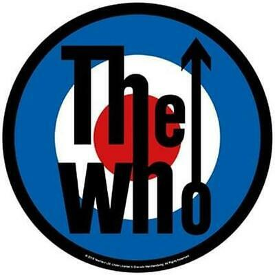 Official Licensed - The Who - Target Back Patch Rock Mod Daltrey Quadrophenia • 9.99£