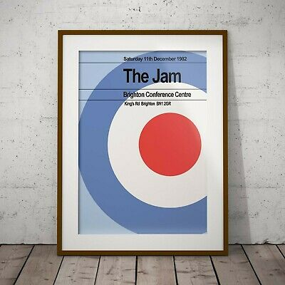 The Jam Last Concert Print/Poster - Framed Or 3 Print Options NEW & EXCLUSIVE • 39.99£