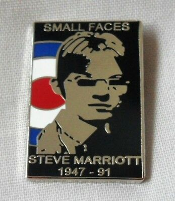 The Small Faces 'Steve Marriott' Enamel Badge.Mod,The Who,Vespa,Weller • 3.99£