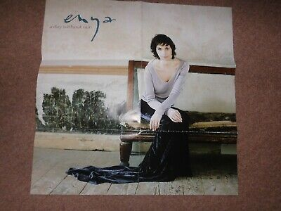Enya - A Day Without Rain  Promo Poster   Germany • 8£