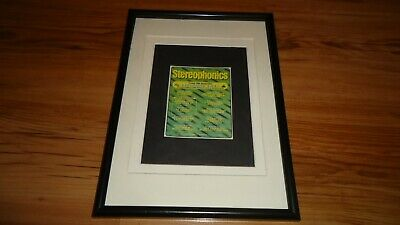 STEREOPHONICS 1997 Tour-framed Original Advert • 12£