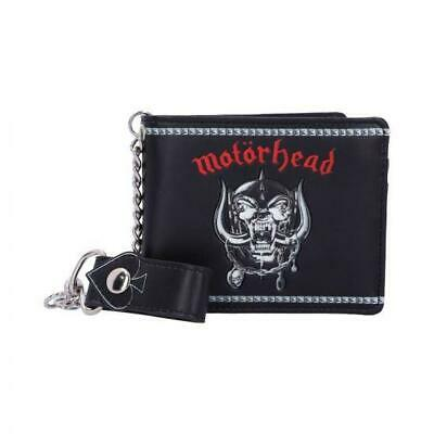 Official Licensed - Motorhead - Warpig Ace Of Spades Chain Wallet - Metal Lemmy • 29.99£