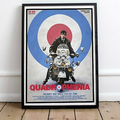 Quadrophenia The Who Print Poster Two Framed Or Three Print Options EXCLUSIVE • 29.99£