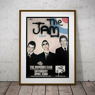 The Jam At The Marquee Three Print Or Two Frame Options NEW Exclusive 2020 • 11.99£
