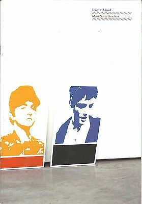 MANIC STREET PREACHERS Forever 2002 Tour Programme 24 Pages • 14.95£
