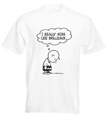 I Really Miss Lee Brilleaux T Shirt Doctor Feelgood Wilko Johnson Canvey Island • 11.50£