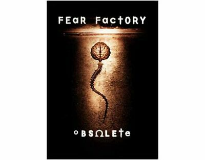 FEAR FACTORY Textile Poster Fabric Flag OBSOLETE • 9.99£