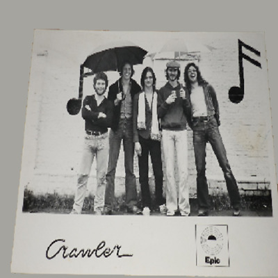 Crawler 10 X 8 1977 Epic Records Publicity Photo • 44.99£