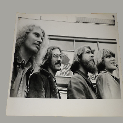 Creedence Clearwater Revival 10 X 8 1971 Agency Publicity Photo • 33.99£