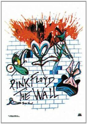 PINK FLOYD Textile Poster Fabric Flag  THE WALL • 9.99£