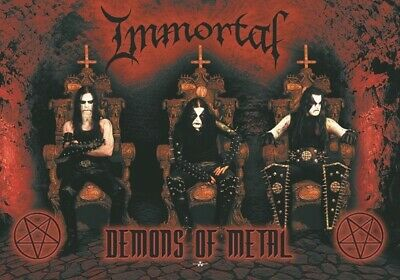 IMMORTAL Textile Poster Fabric Flag  • 9.99£