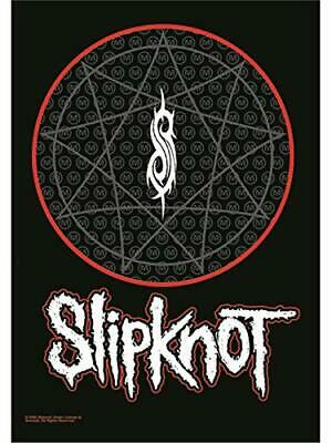 SLIPKNOT Textile Poster Fabric Flag LOGO • 9.99£