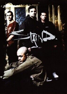 STAIND Textile Poster Fabric Flag • 9.99£