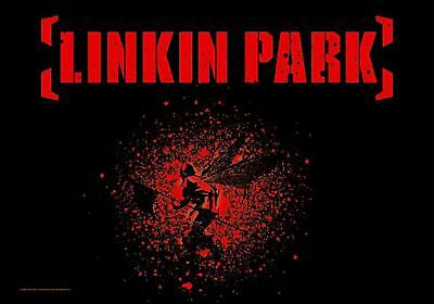 LINKIN PARK Textile Poster Fabric Flag • 7.99£