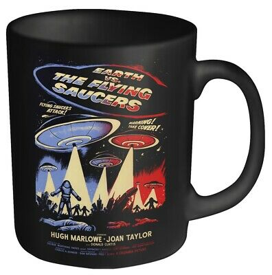 EARTH VS THE FLYING SAUCERS Official Boxed Mug • 9.99£