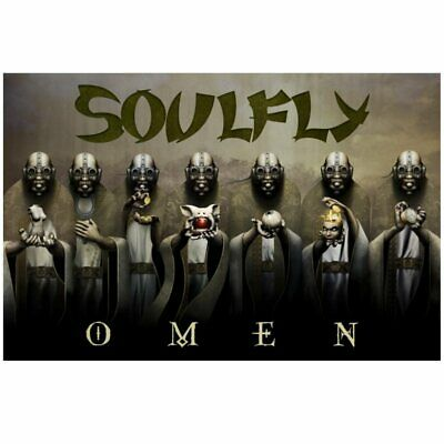 SOULFLY Premium Fabric Poster / FLAG • 14.99£