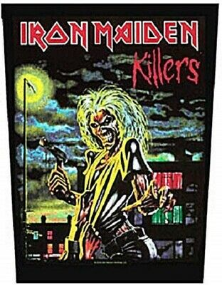 IRON MAIDEN Backpatch Back Patch KILLERS • 4.95£