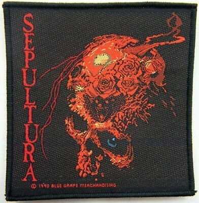 SEPULTURA  Patch  BENEATH THE REMAINS • 2.99£