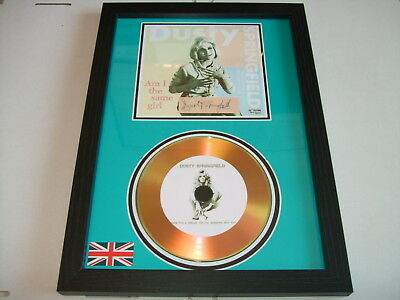 Dusty Springfield  Signed  Gold Cd  Disc   • 19.98£