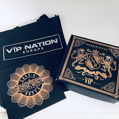 Guns N Roses Not In This Lifetime Europe 2018 VIP Box Limited Edition Lithograph • 164.54£