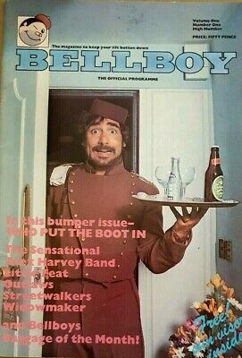 The Who - Original Bellboy Tour Programme 1976 • 50£