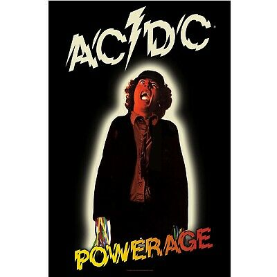 AC/DC Premium Fabric Poster POWERAGE • 12.99£