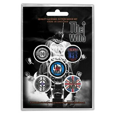 THE WHO Badge Pack  • 2.99£