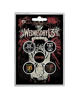 WEDNESDAY 13 Badge Pack  • 3.99£
