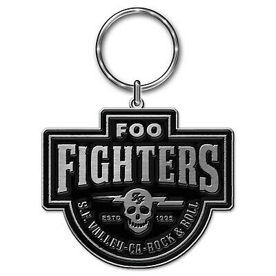 FOO FIGHTERS Official Metal Keyring NEW • 5.99£