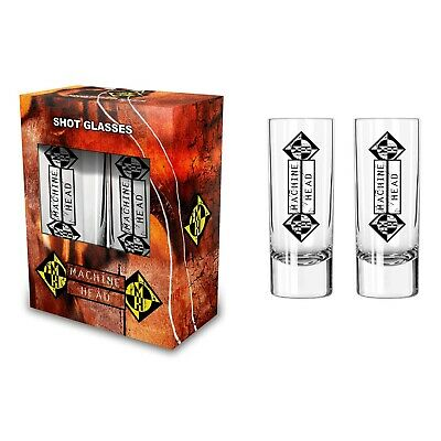 MACHINE HEAD Shot Glass Set • 7.99£
