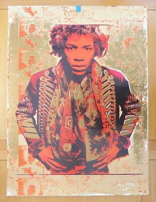 Jimi Hendrix : Ultimate Experience Poster Gold (1993) • 55£