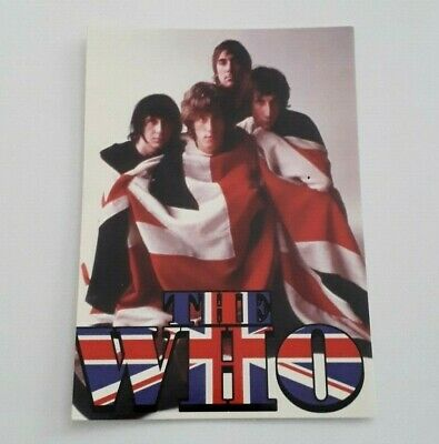 THE WHO - OFFICIAL POSTCARD - 2006 (The Who Band Music) • 1.99£