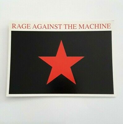 Rage Against The Machine - Flag - Official Postcard - 2000 • 1.99£