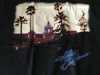 Eagles Tour 2018 Hotel California T-shirt New Size Adult M • 4.76£
