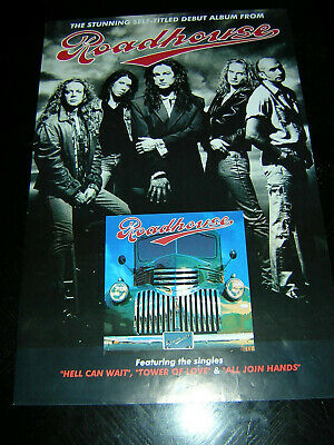 Original Roadhouse Promotional Poster - Roadhouse • 6.95£
