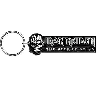 IRON MAIDEN Official Metal Keyring BOOK OF SOULS • 5.99£