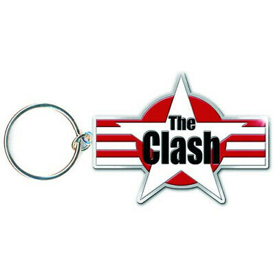 THE CLASH Official Keyring • 4.99£