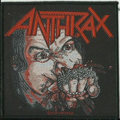 ANTHRAX Fistful Of Metal 2020 WOVEN SEW ON PATCH Official Merchandise • 3.95£