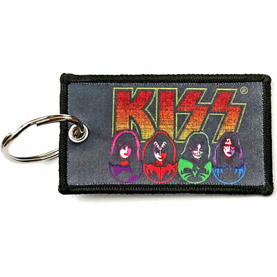 KISS Official Fabric Keyring NEW -ICONS • 6.99£