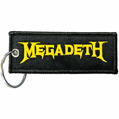 MEGADETH Official Fabric Keyring NEW  • 6.99£
