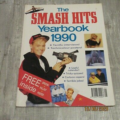 The Smash Hits Yearbook 1990 • 15£