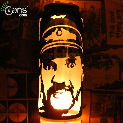 Lemmy Kilmister Beer Can Lantern! Motorhead, Hawkwind Pop Art Portrait Lamp • 13.99£