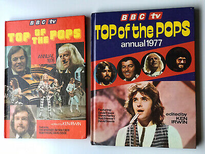 Top Of The Pops Annual   BBC TV  1976 And 1977 • 12£