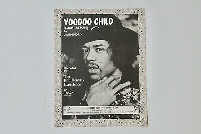 Jimi Hendrix Voodoo Child Original Sheet Music • 250£