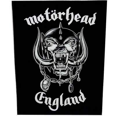 MOTORHEAD Backpatch Back Patch ENGLAND • 6.95£
